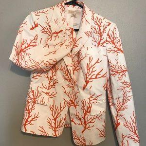 Michael Kors Coral print blazer